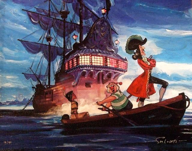 Which Captain Hook Picture?