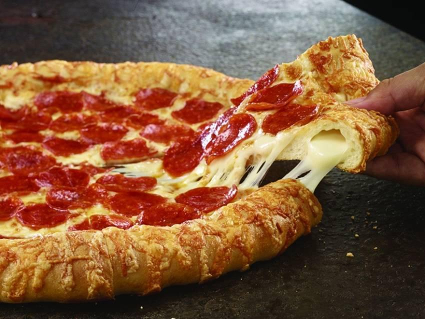Do you guys like stuff crust pizza?