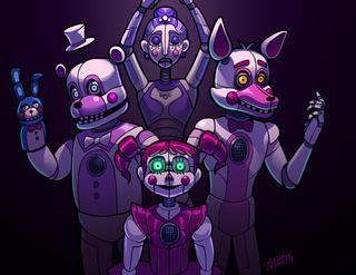 Which is a better way to create animatronic children?