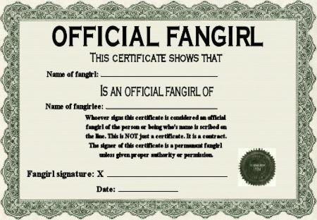 Are you a fangirl/boy?