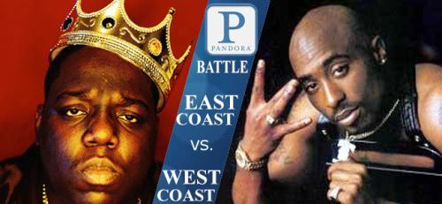 West coast vs East Coast