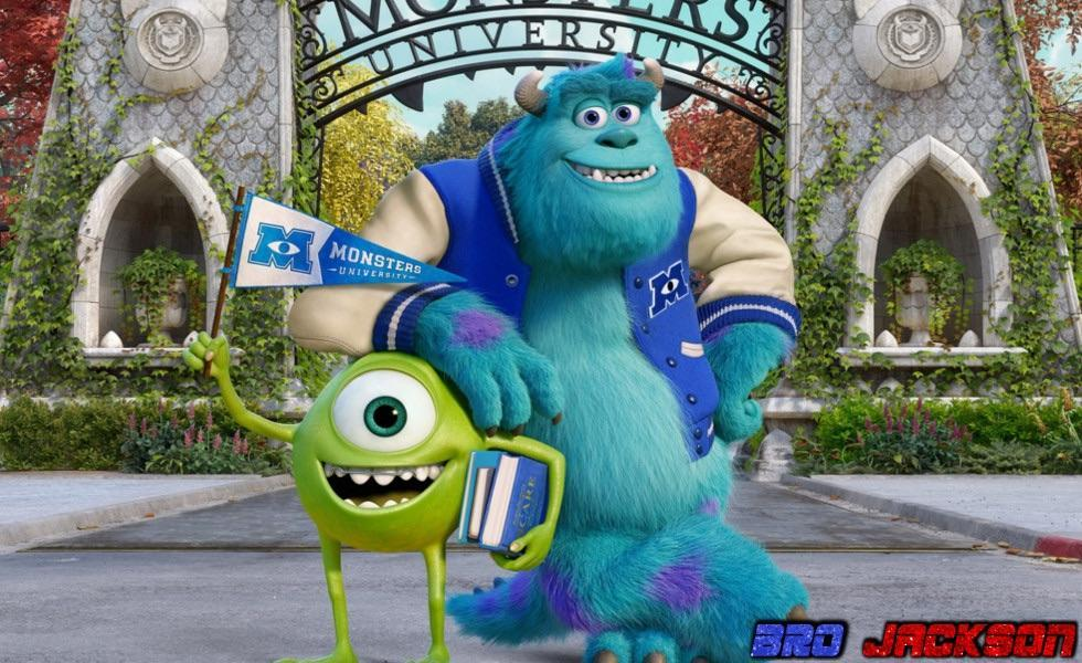 Did you enjoy the movie Monsters U?