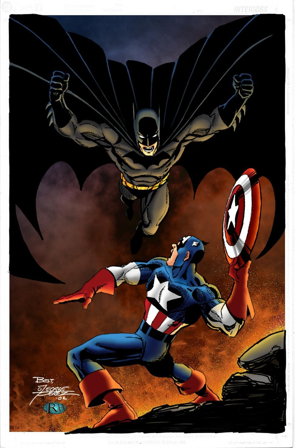 Batman or Captain America?
