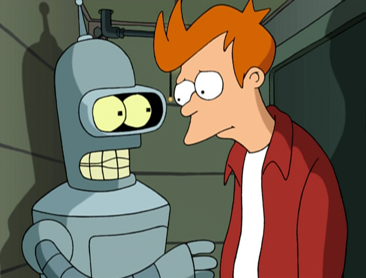 Fry Or Bender (Please List Your Reason In The Comments)