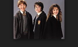 Who do you like best? Harry Ron or Hermione