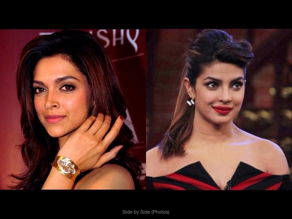 Do you like Priyanka Chopra more or Deepika Padukone more?
