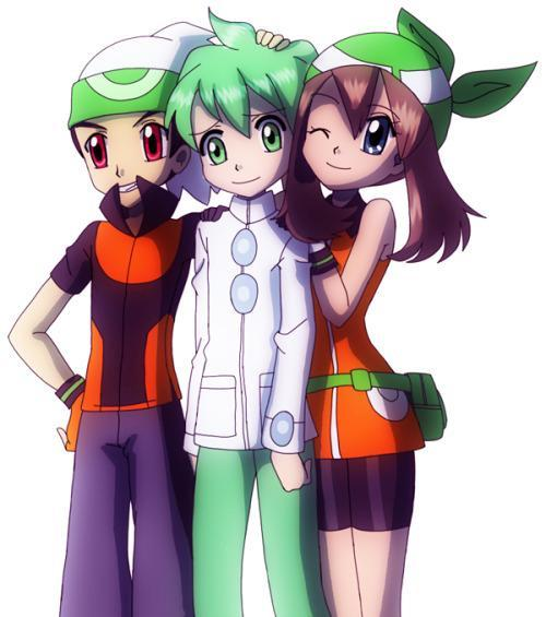 What trainer from saphire/Ruby/emerald and ORAS is your favorite?