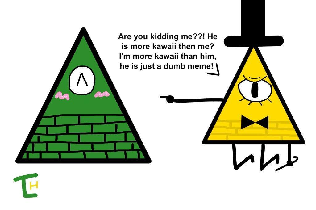 Illuminati or Bill Cipher?