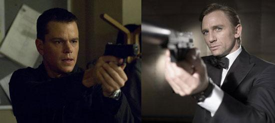 Which movie series do you like more: James Bond or Bourne ?