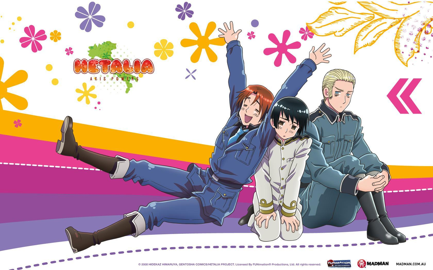 What Is Your Favorite. Hetalia.  Character. Out Of Theses ?