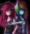 Creepypasta Pinkamena or Rainbow dash or both
