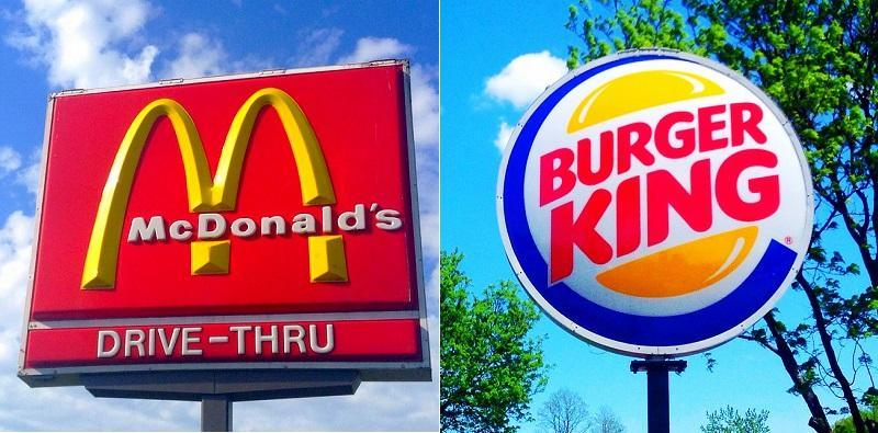 Burger king vs MacDonalds
