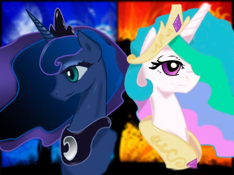 would you rather #2 be princess luna or celestia?