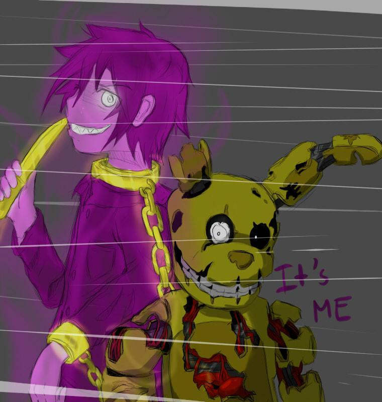 Purple guy or springtrap
