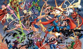DC Comics VS Marvel!