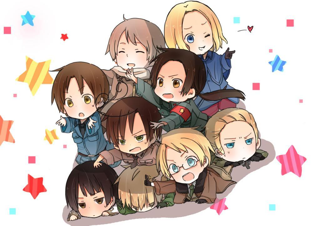 Would You Rather ? (Hetalia Addtion ) 2