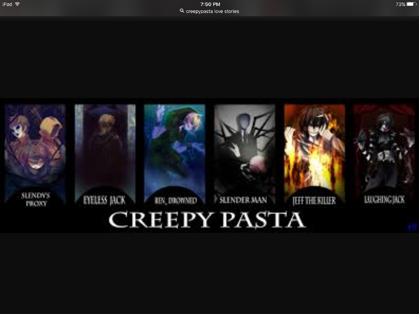 Best main Creepypasta?