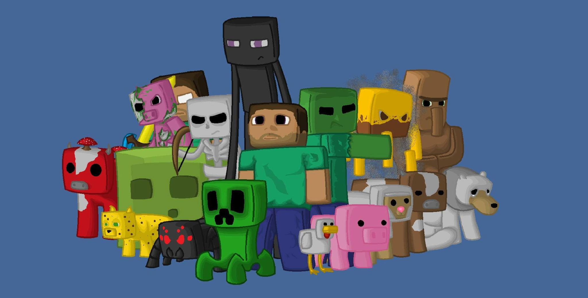 Hug able Zombie, Exploding Nice Creeper or Invisible Skeleton