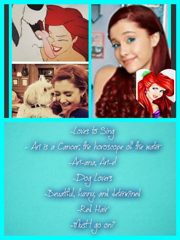 Are Ariana Grande and Ariel Alike?