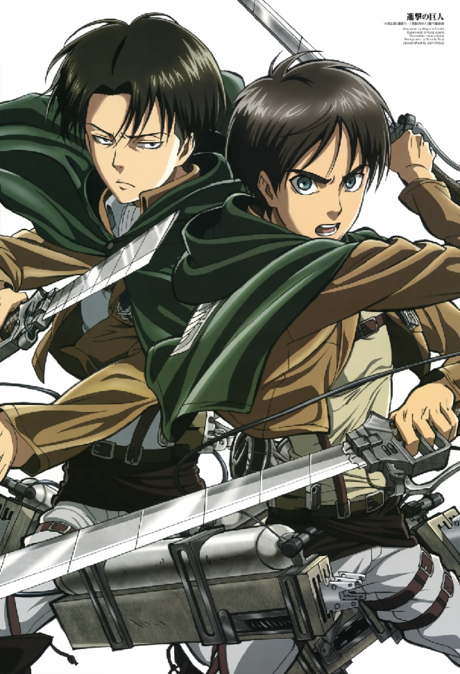 Who do you like more, Levi Ackerman or Eren Jaeger?