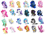 My Little Pony, Who is Your Favourite Pony (Mane 6)?