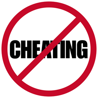 Is it okay to cheat? (no it's not)