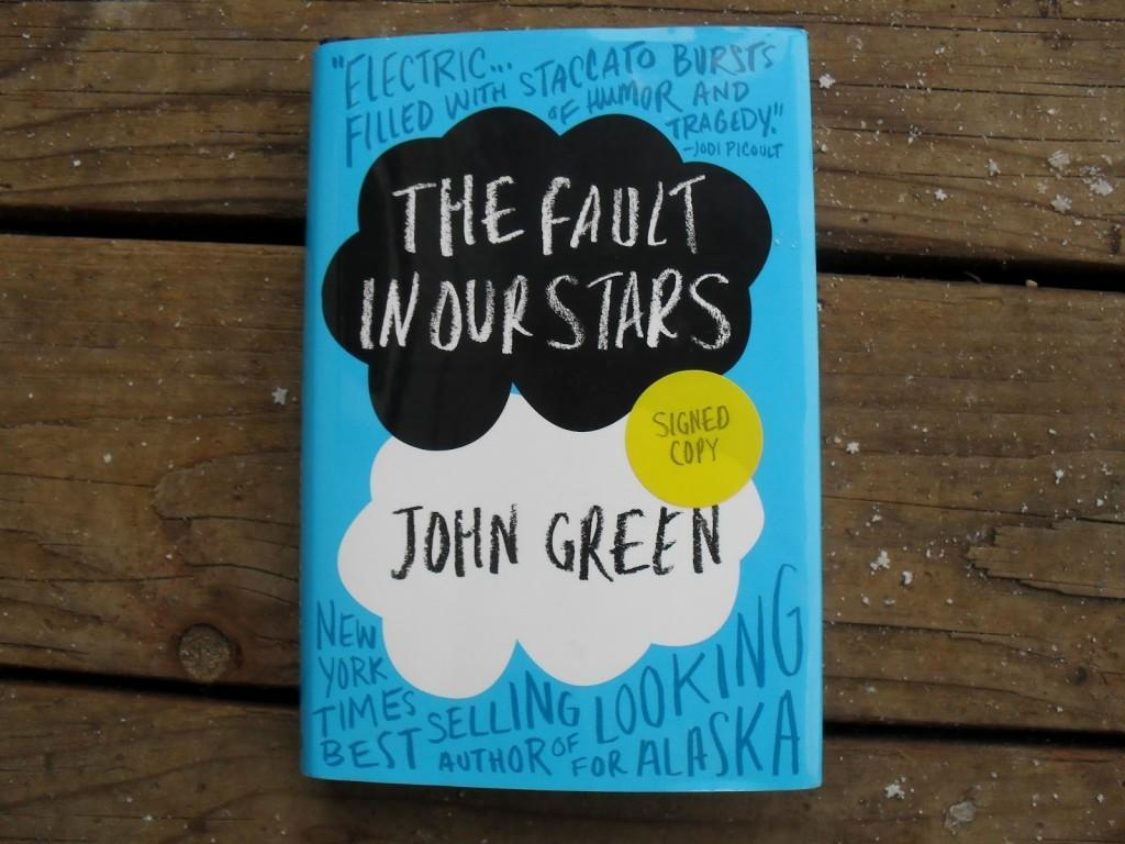 What did you think of the fault in our stars book?