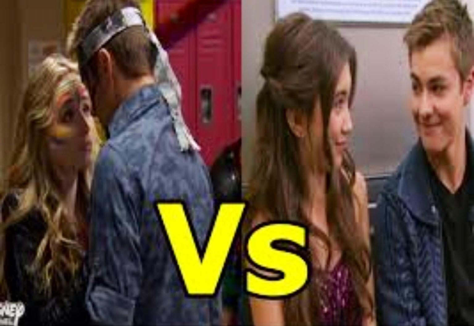 Who do you want to be together from Girl Meets World?
