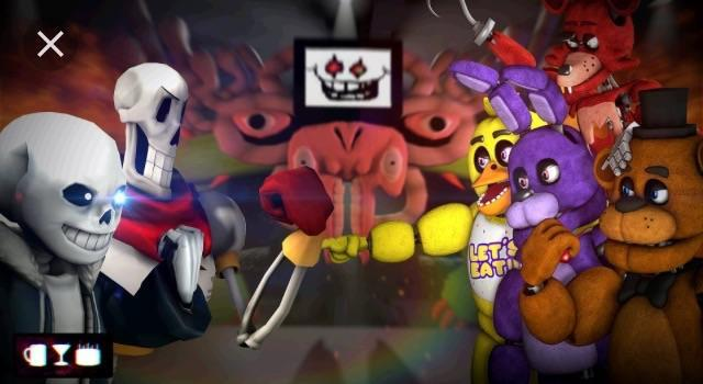 Fnaf or undertale?