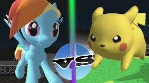 Pokemon or my little pony