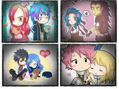 Which Fairy Tail Couple out of these is your favorite?
