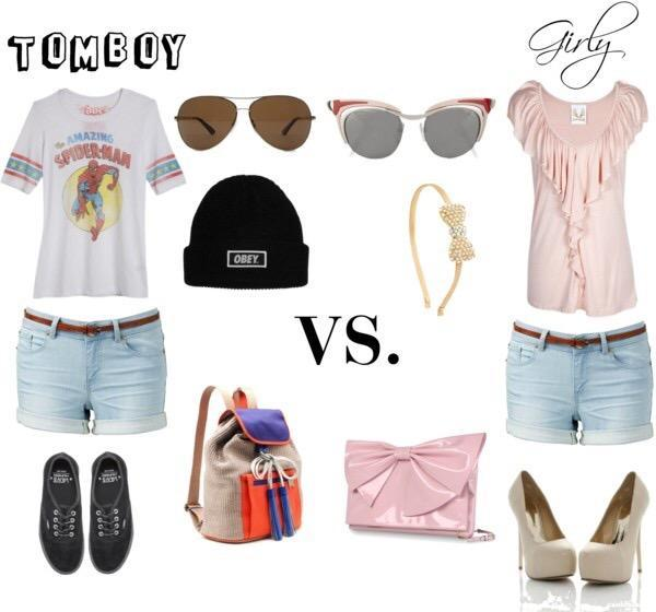 Are u A tomboy or a girly girl or both?