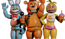 How did you react at the first time you played FnaF2?