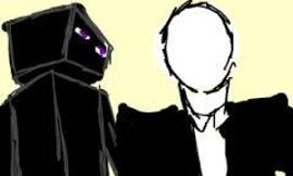 Slenderman or Enderman?