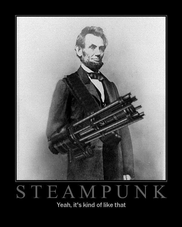 Do you know what Steampunk is?
