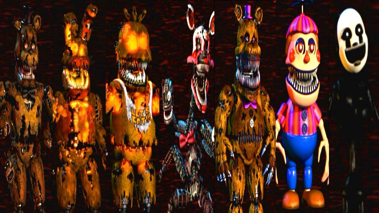 FnaF 4 normal or FnaF 4 hallooween eddition