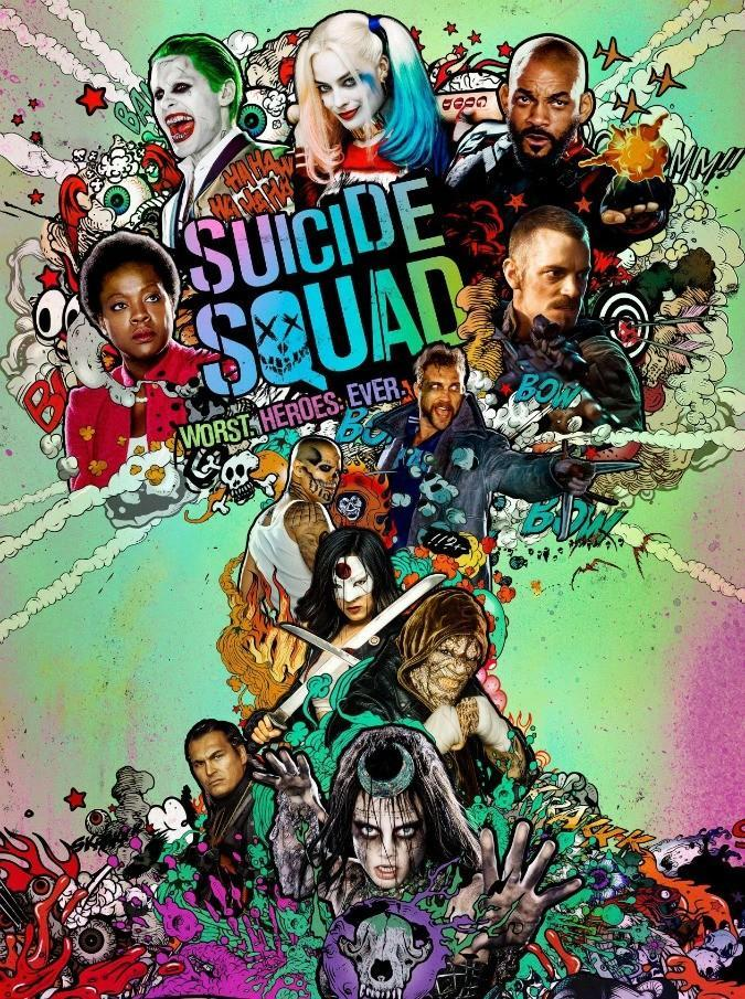 Did you like the movie Sui-cide squad?