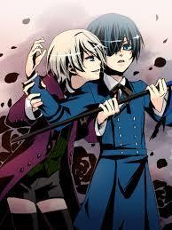 Who wins the impersonation contest on the Alois and Ciel fan page?