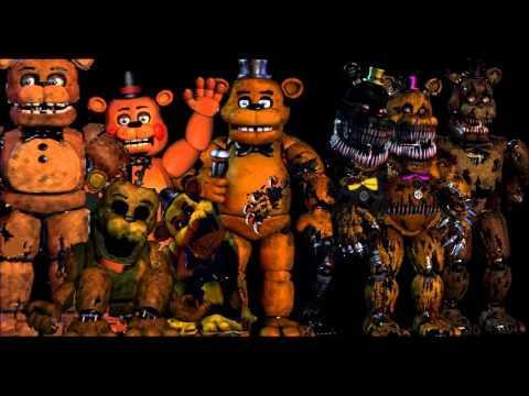 What your favorit type of Freddy? In the game.