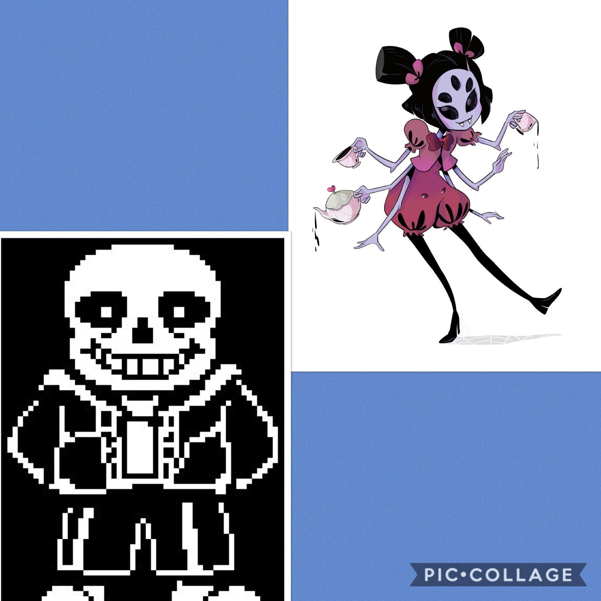 Who's cooler: Sans or Muffet?