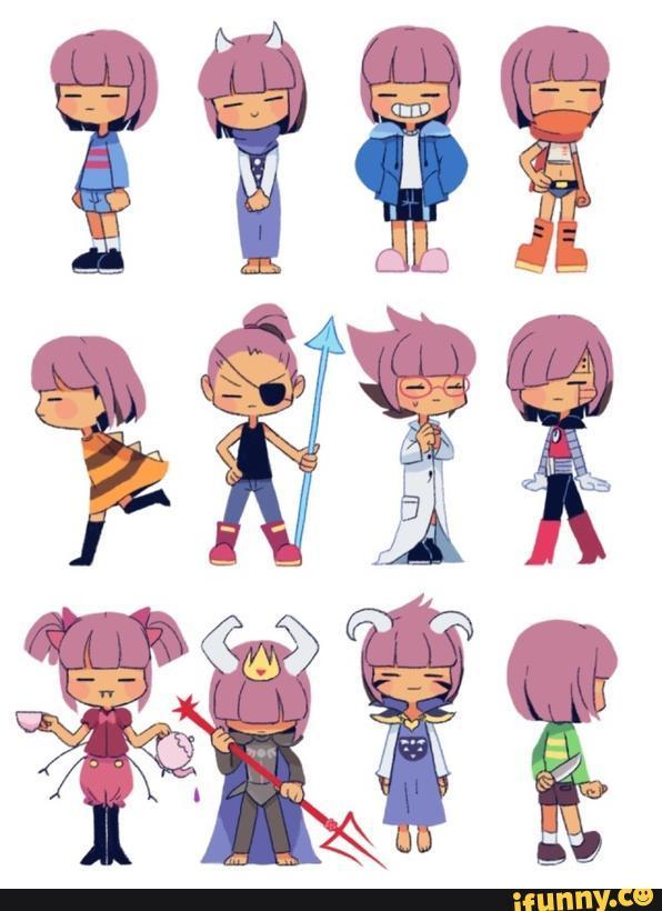 If Chara from Undertale had a gender which one do you think would suit them?