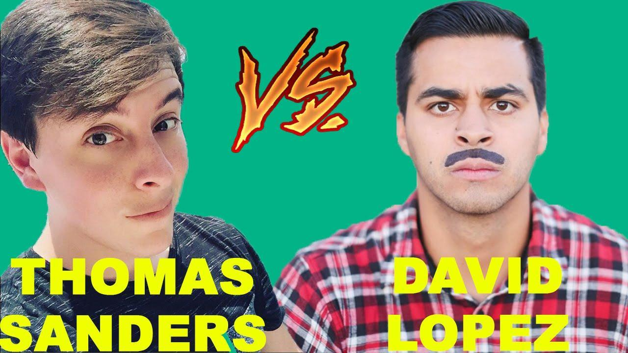Which Vine celebrity do you like more: Thomas Sanders or David Lopez?