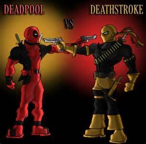 If these people fought in a battle who would win: Deadpool or Deathstroke?