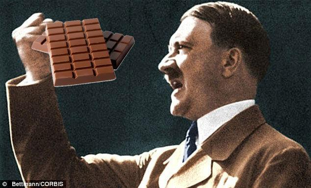 Would you rather Legally Change your last name to Hitler or Never eat chocolate agein?