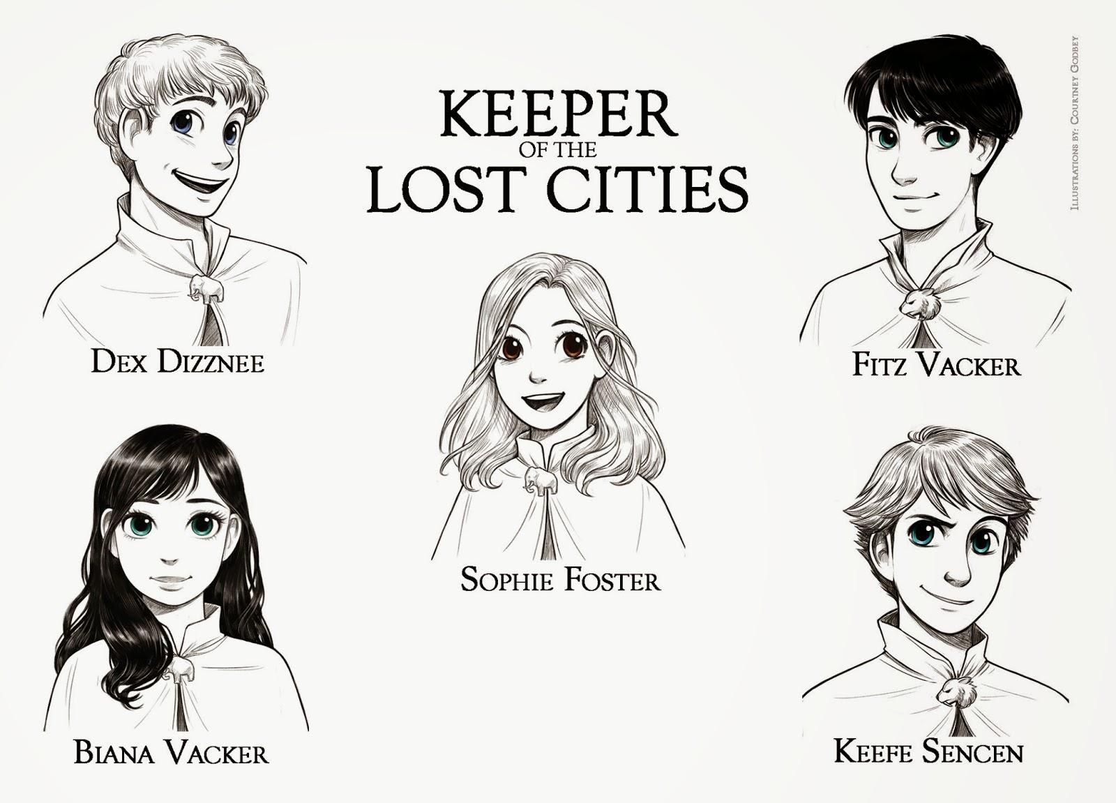 Which Keeper of the Lost cities team are YOU on? Sophie's love interests!