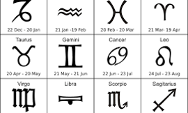 What is your ZODIAC sign? (4)