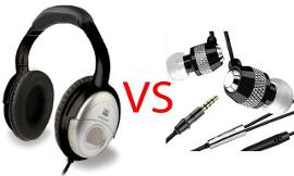 Headphones Or Earbuds?