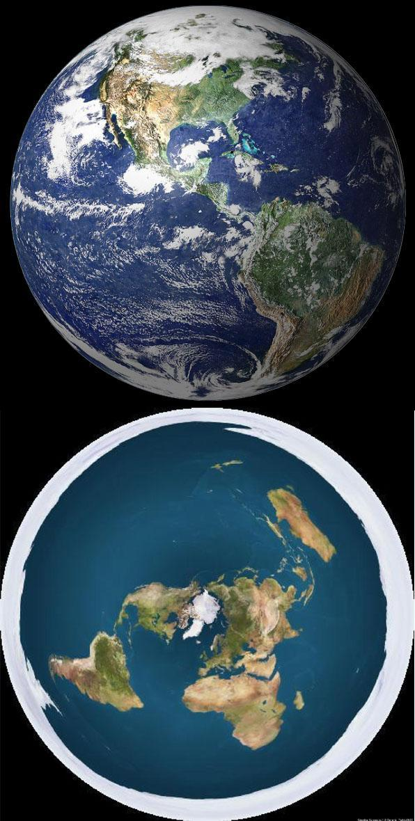 Flat Or Round Earth