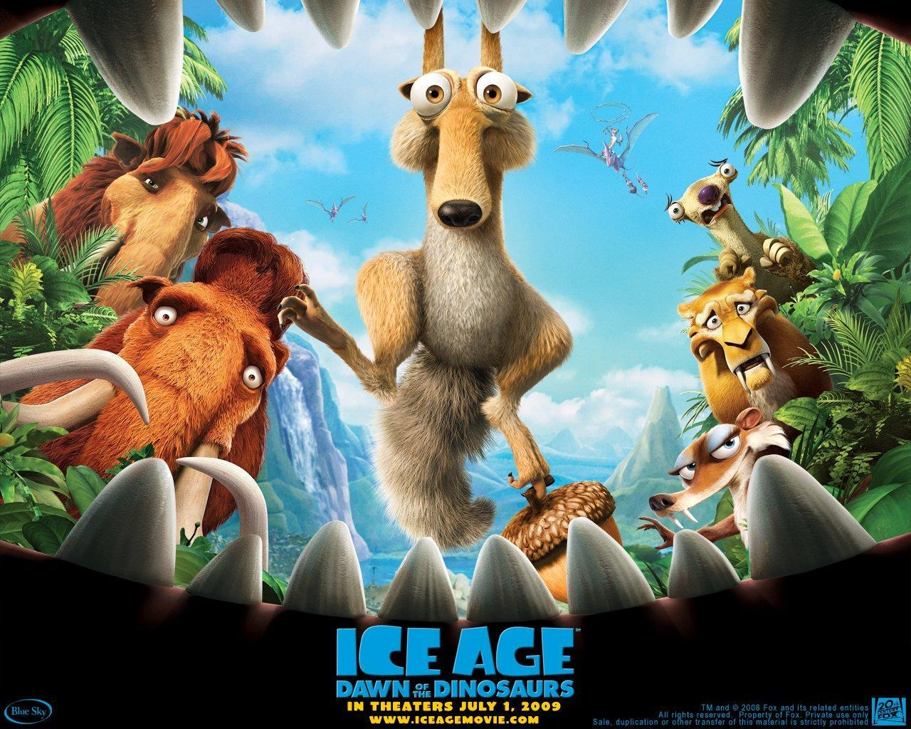 Ice Age 3 - Dawn of the Dinosaurs :)