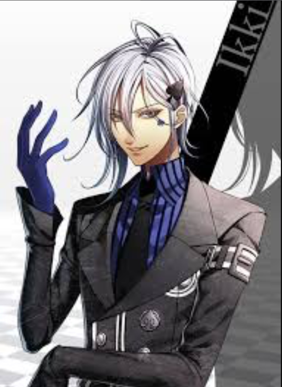 Ikki (Blue/Purple & Spades)